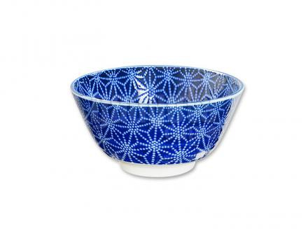 Bol arroz japonés Nippon Blue estrella 12 cm