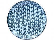 Plato Nippon Blue ola 26 cm