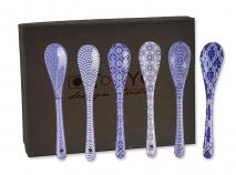 Set 6 Cucharas japonesas Nippon Blue