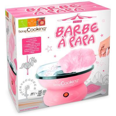 Máquina para hacer algodón de azúcar Barbe a Papa