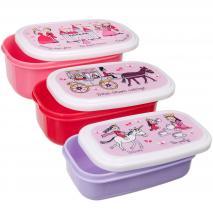 Set 3 Fiambreras snack Princesas