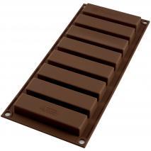 Molde silicona Barritas Snack 8 cav
