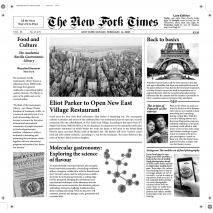 10 Papel periódico New Fork Times