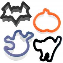 Talladors galetes Halloween grip plàstic