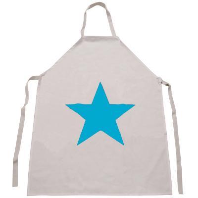 Delantal infantil vinilo Estrella Azul