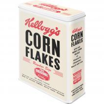 Caixa metàl·lica cereals Kellogg's Corn Flakes XL