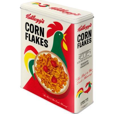 Caja metálica cereales Kellogg's Cornelius XL