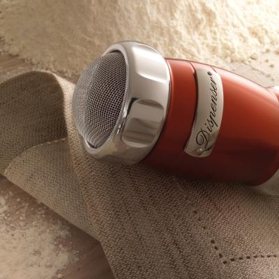 Dispensador harina Marcato rojo