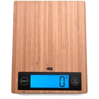Balanza cocina digital Bambú hasta 5 Kg