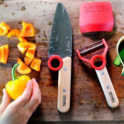 Set cuchillo y pelador Opinel Master Chef junior