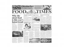 10 Paper diari Food Times