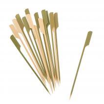 100 Broquetes còctel bambú