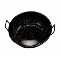 Paella fonda esmaltada amb nanses