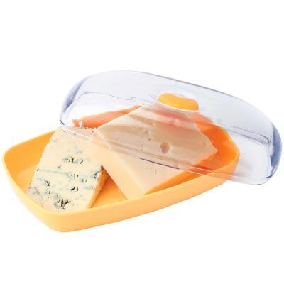 Bote guarda queso reversible