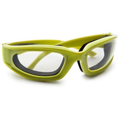Gafas para cortar cebolla verdes