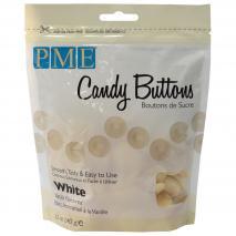 Candy Melts PME Botó xocolata blanca