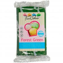 Fondant FunCakes 250 g verde bosque