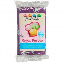 Fondant FunCakes 250 g púrpura reial