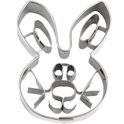 Cortador galletas conejo bigotes 8 cm