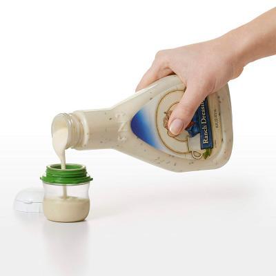 Botella silicona Oxo vinagreta ensaladas