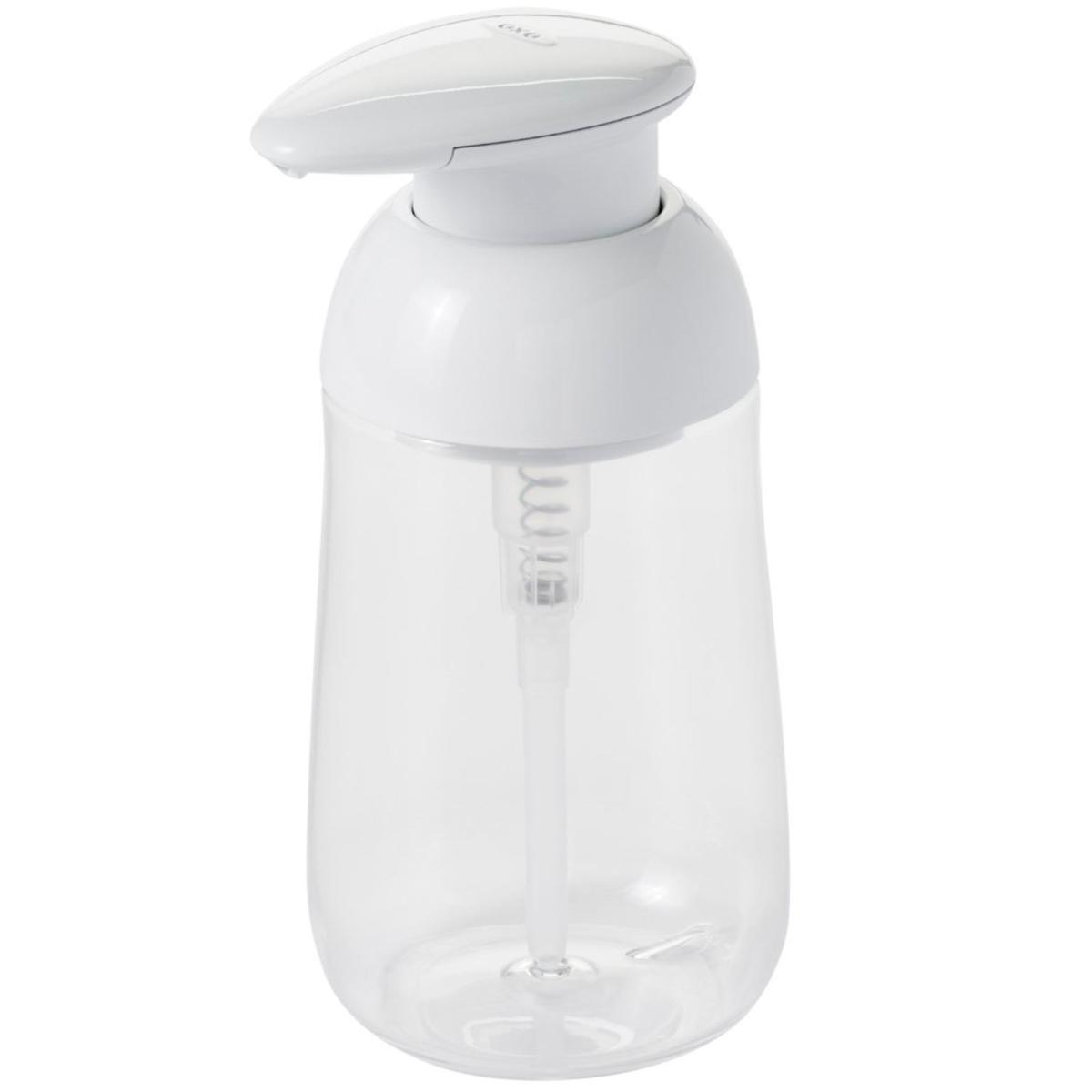 Dispensador jabón cocina Oxo blanco transparente   Gadgets & Cuina