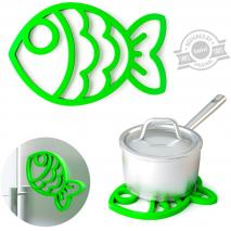 Estalvis silicona magnètic Fish