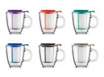 Set Yo-Yo mug amb filtre Bodum colors 2016