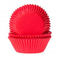 Papel mini cupcakes red velvet x60