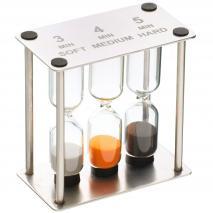 Rellotge de sorra triple per a infusions