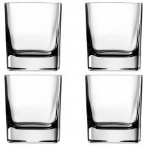 Caja 4 vasos Strauss whisky