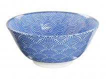 Bol japon�s Tayo Nippon Blue dots 15 cm