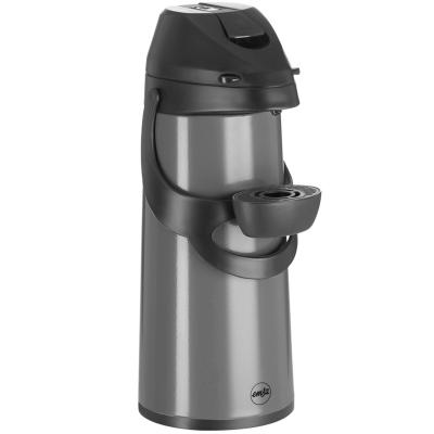 Termo para café tapa bombeo Pronto gris 1,9 L