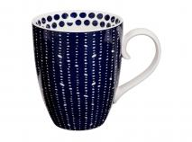 Taza mug Blue Nimes topos 380 ml