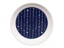 Plat per a mug Blue Nimes topos 9 cm