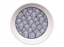 Plato para mug Blue ondas 9 cm