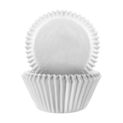 Papel mini cupcakes x60 blanco