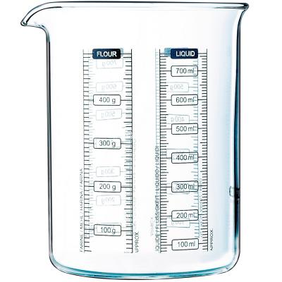 Vaso medidor Kitchen Lab vidrio boro 750 ml
