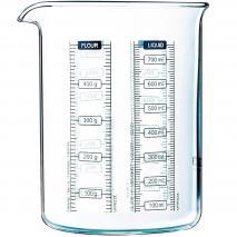 Vaso medidor Kitchen Lab vidrio boro 750 ml