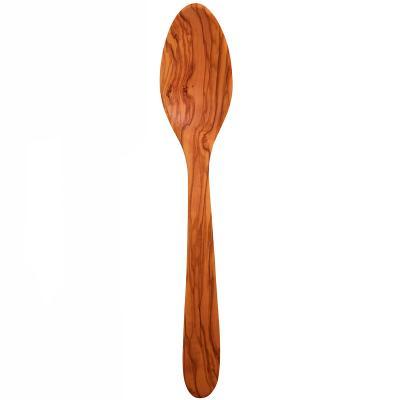 Cuchara de cocina curvada madera de olivo
