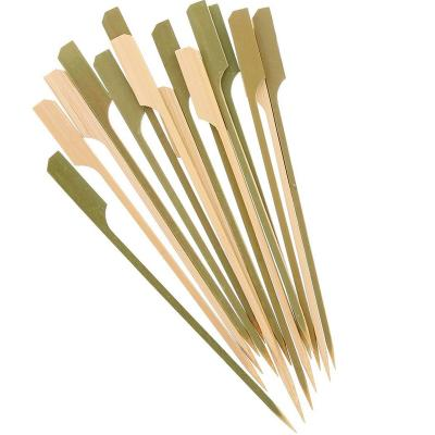 100 Brochetas cóctel bambú