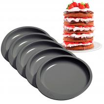 Set 5 moldes antiadherentes Layer Cake 15 cm