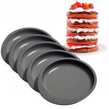 Set 5 motllos antiadherents Layer Cake 15 cm