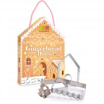 Set cortadores galletas Casita Ginger