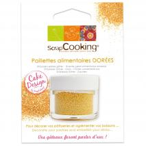 Paillete alimentario dorado 5 g