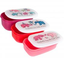Set 3 Fiambreres snack Elefants