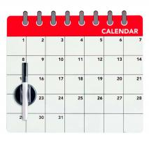 Pizarra iman Month planner con rotulador