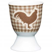 Huevera de porcelana Textured Hen