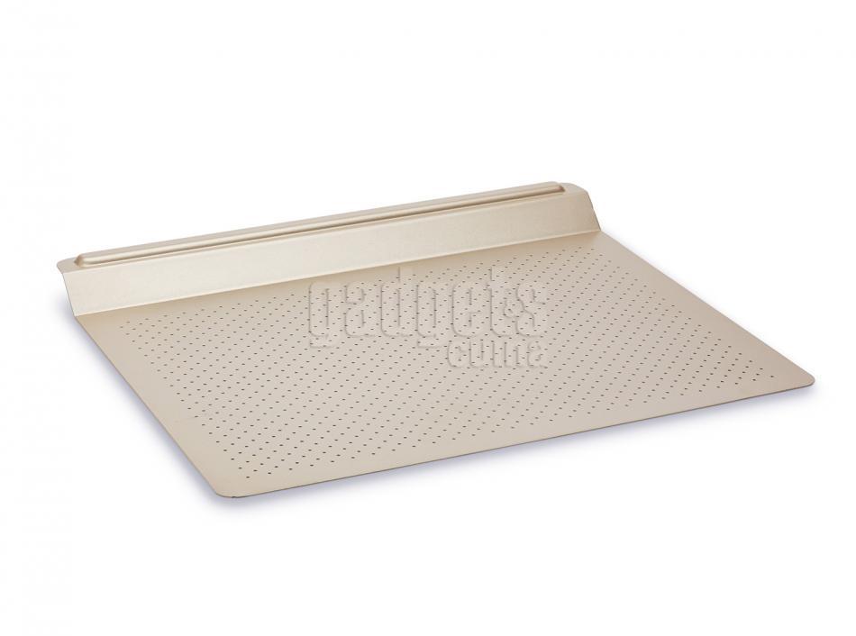 Bandeja horno perforada con soporte 43x33 cm gadgets cuina - Horno bandeja extraible ...