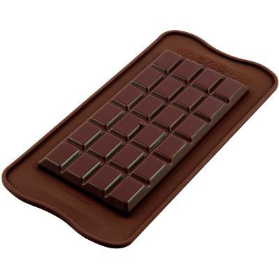 Molde silicona tableta chocolate classic