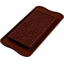 Molde silicona tableta chocolate Love